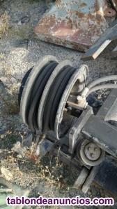 Enrollador hidraulico de mastil