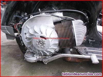 Motor de Vespa 200 DN reparado