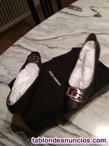 Zapatos negros piel talla 37
