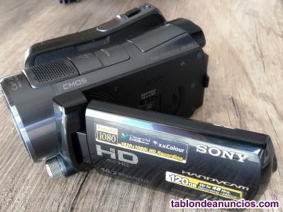 Videocámara digital HD Sony