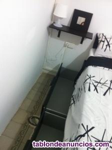 Habitación confortable en lesseps