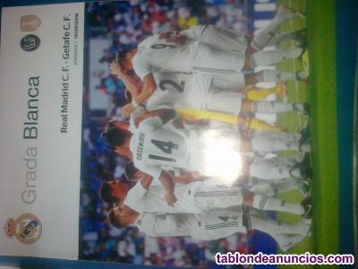 Revista Real Madrid.