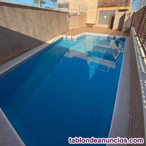 Piso El Ranero con piscina