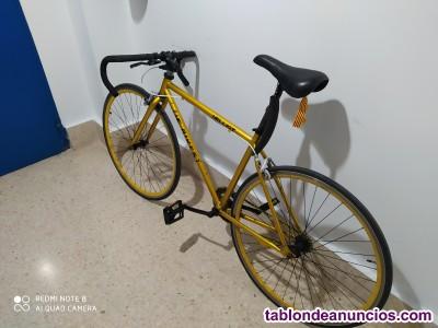 Bicicleta fixie de carretera