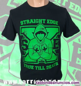 Camiseta manga corta - Straight Edge