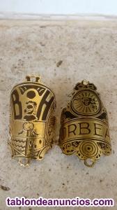 Escudo BH Orbea insignia logo chapa de bici antigua retro clásica vintage. Repli