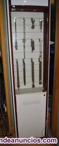 Expositor mueble vitrina collares joyas