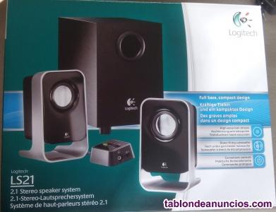 Altavoces Logitech LS21