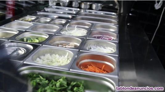 Se traspasa restaurante de comida tailandesa para llevar