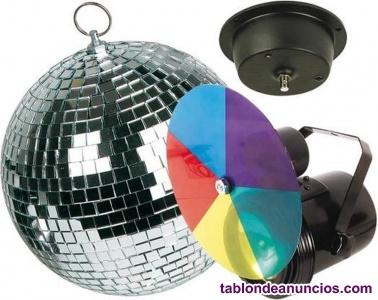 Kit iluminación disco