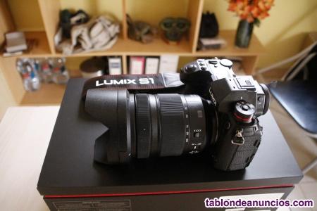 Camara de fotografia PANASONIC S1 + 24-105 mm