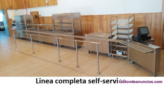 Linea de muebles Self-Service en perfecto estado
