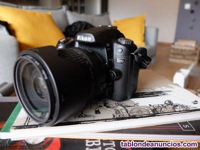 NIKON DSLR D80 reflex digital + 18-135mm