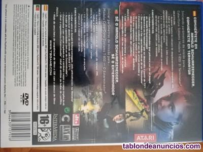 Se vende juego PS2 Termineytor