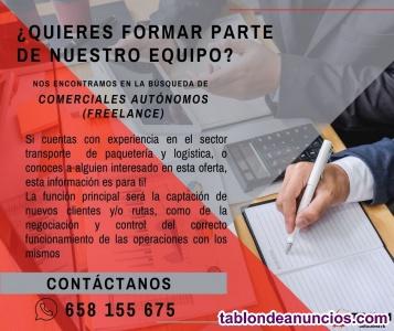 Oferta Laboral - Comercial Freelance
