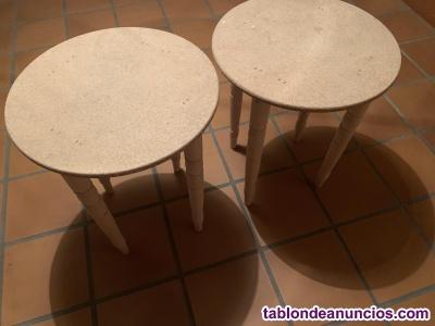 Dos mesas camilla