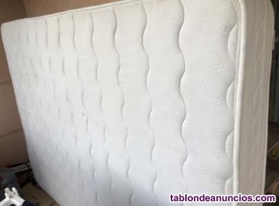 Colchón viscoelastico 150 x 2 perfecto estado poco uso