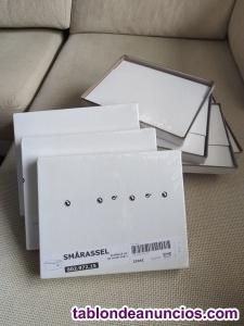Caja con tapa, blanco de medidas 21x26x15 cm.