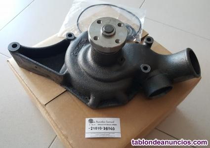 Bomba de agua para vehiculos nissan motores b4.40/b6.60, -21010-d8740
