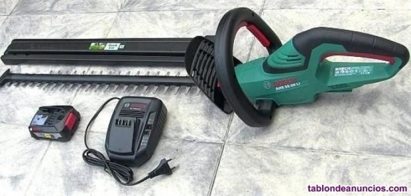 Vendo Cortasetos Bosch a batería: AHS -20 LI