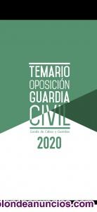 Temario OPOSICIONES GUARDIA CIVIL ACTUALIZADO 20/21