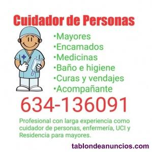 Cuidador de Personas Mayores, Enfermas y Descapacitadas