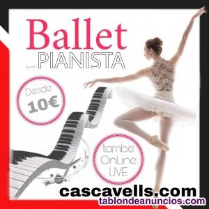 Clases BALLET con PIANISTA