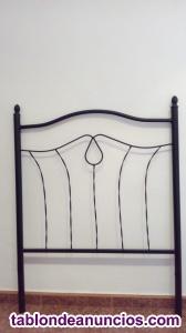 Cabezal - cabecero hierro cama 90 cm