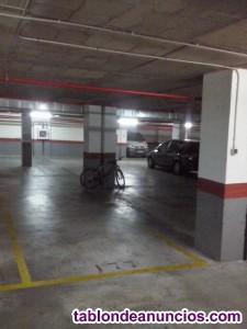 Garaje para moto