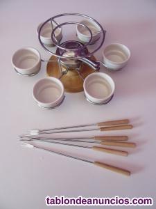 Juego de fondue giratoro