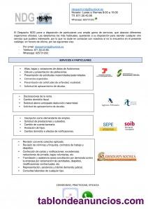 Asesoría laboral-fiscal-contable-jurídica.