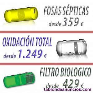 Fosa séptica oxidación total 10 habitantes