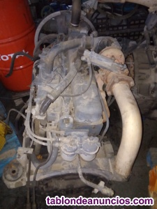 Motor Pegaso Super Comet con turbo