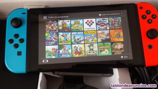 Nintendo switch ha cke ada  2o17 con muchos juegos