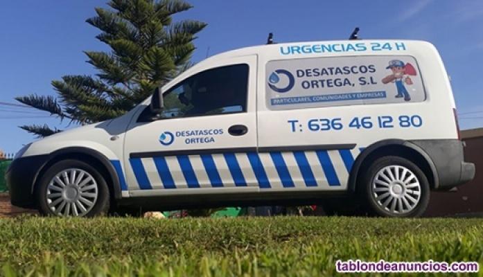Desatascos Ortega, s.l.