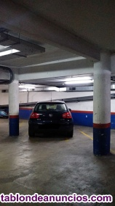 Vendo plaza de parking coche grande