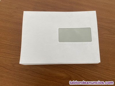 Caja sobres papeleria nuevos