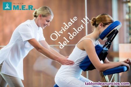 Gratis masaje en silla ergonómica