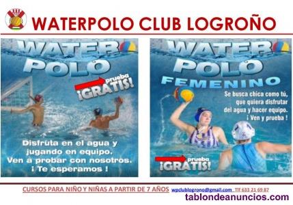 Prueba el waterpolo!!