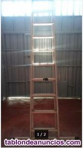 Se vende escalera de aluminio extensible