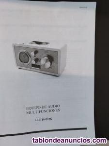 Equipo audio multifunciones