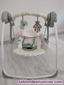 Balancín bebé mono