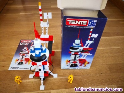 TENTE ASTRO Ref. 0721 Astronave y torre de lanzamiento