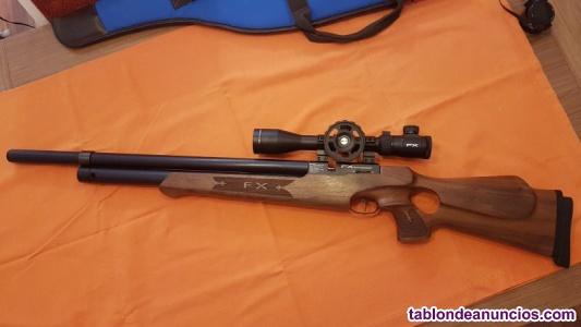 Carabina PCP FX Moonsoon Semiauto Cal 5.5 cargador 13 disparos.