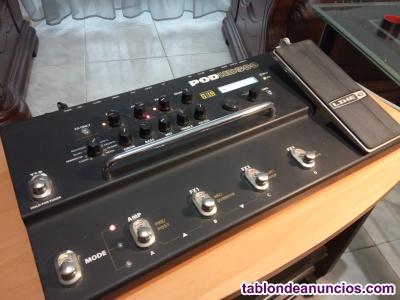 PEDALERA MULTIEFECTOS PARA GUITARRA ELECTRICA   LINE6/PODHD300