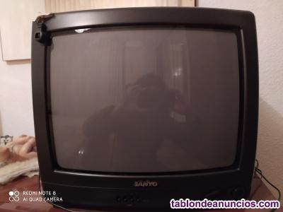 """TELEVISOR SANYO 14"""" CON TDT Y MANDO A DISTANCIA"""