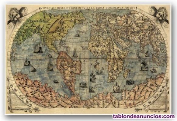 Clases por internet de inglés y geografía e historia.