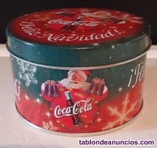 Lata Coca cola navidad