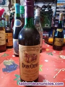 Para coleccion vino don opas del año 1986 valdepeñas