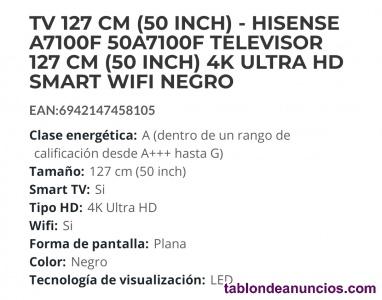 Tv hisense 50